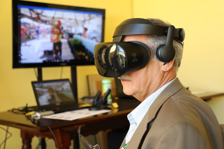 Food Systems Virtual Reality Experience Conference Participant Costa Rica