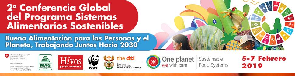 Banner Conferencia Sistemas Alimentarios Sostenibles Costa Rica Evento Cena Gastronomía