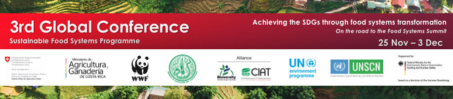 Outcome Document conference sustainable food systems programme