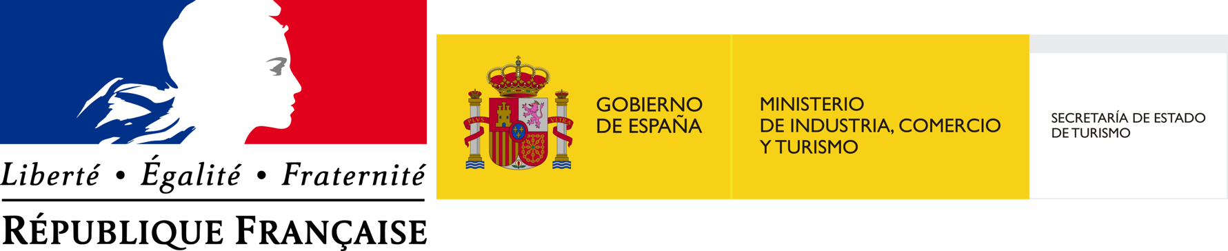 Government of France and Spain logo