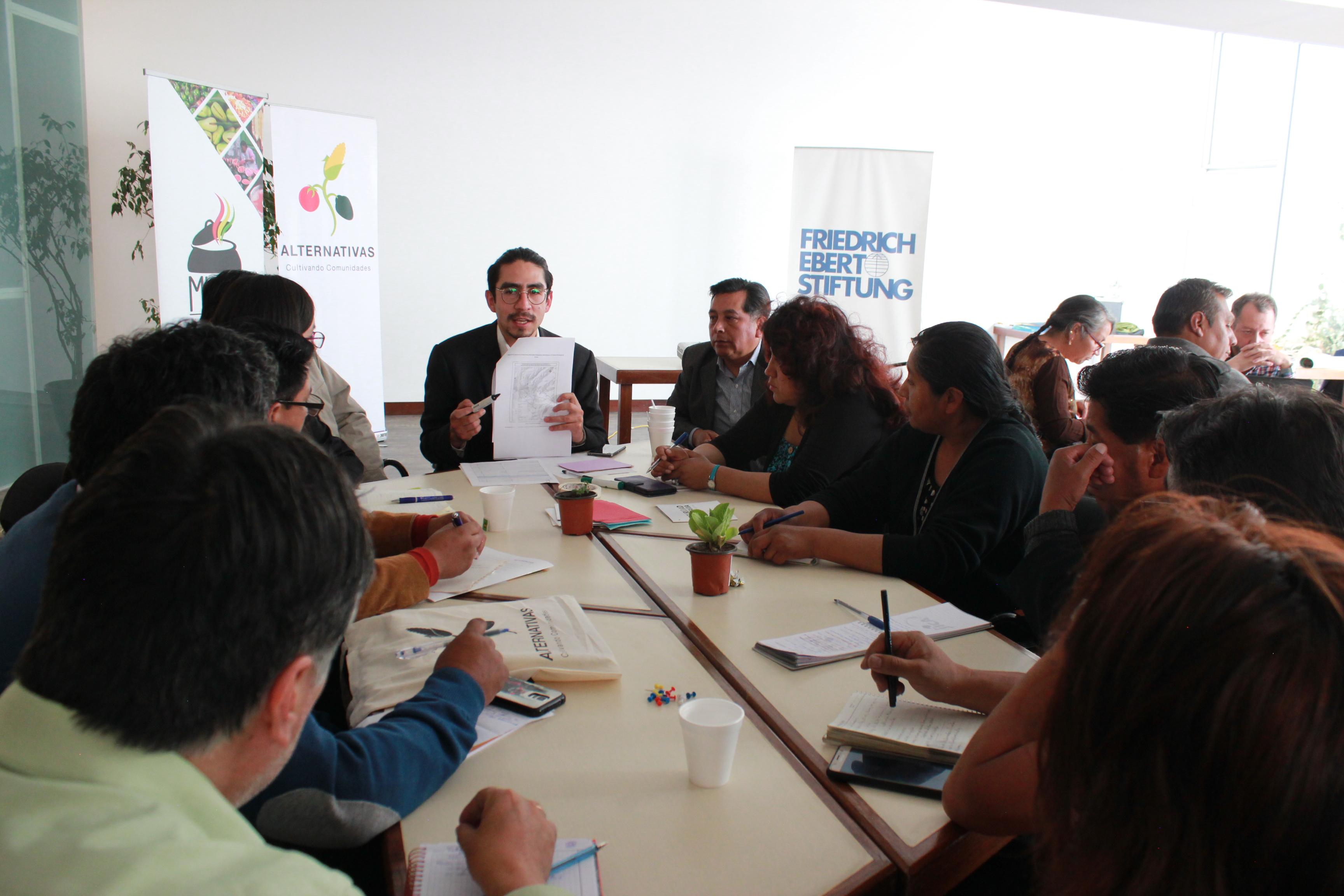 La Paz council Bolivia Fundación Alternativas council Multi-stakeholder mechanism food systems
