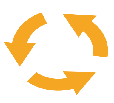 Resource efficiency indicator icon