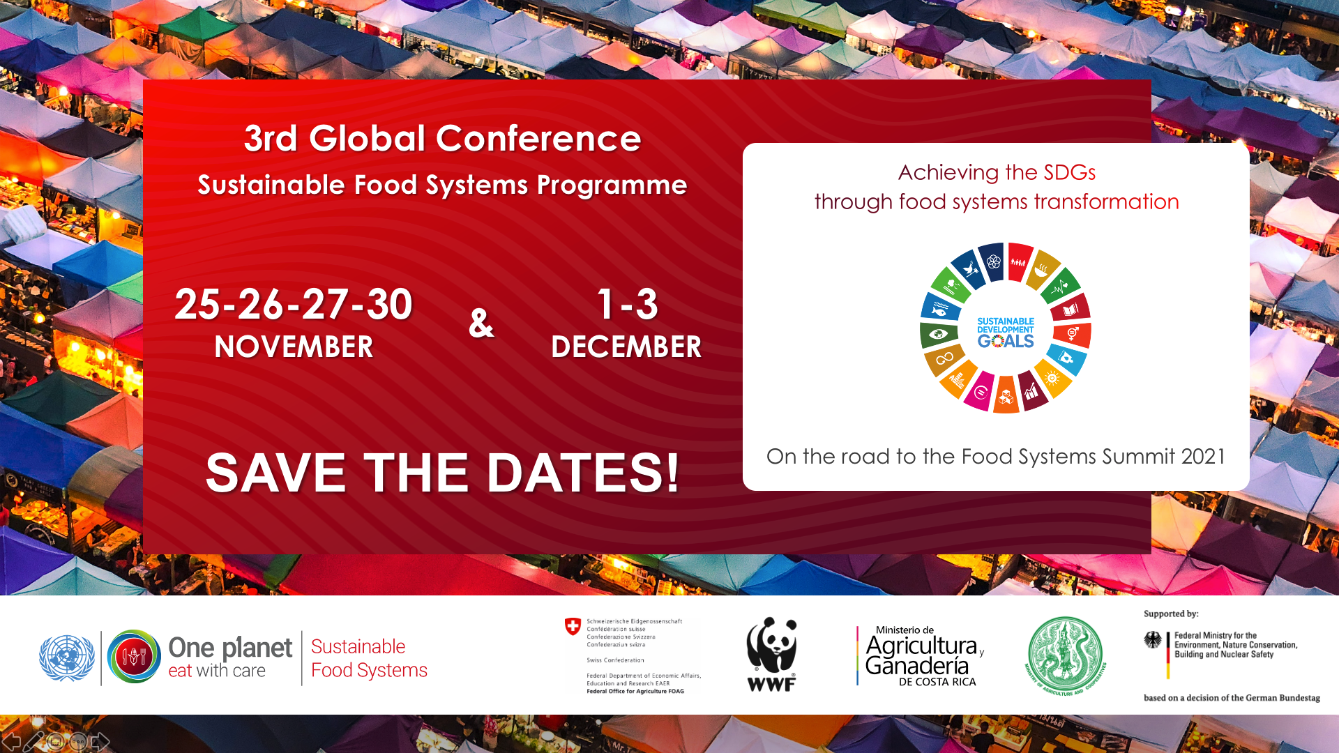 Save the date conference sustainable food systems programme