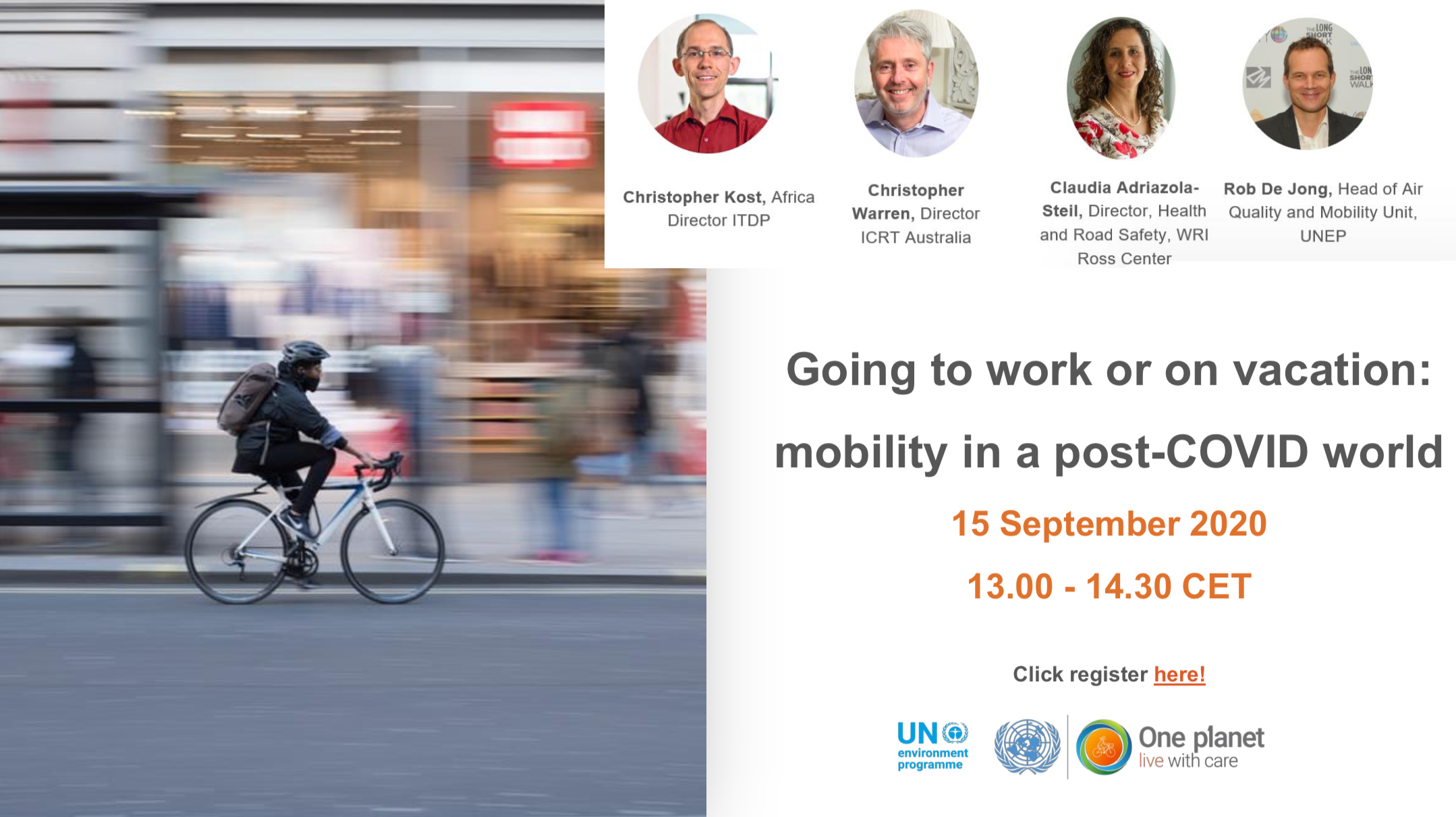 WEBINAR mobility post-COVID world